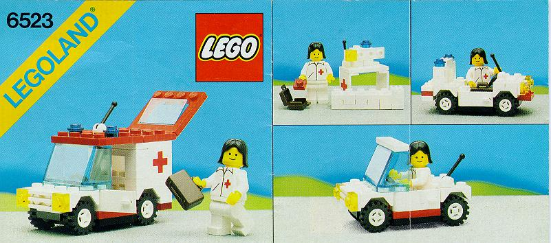 LEGO ambulans