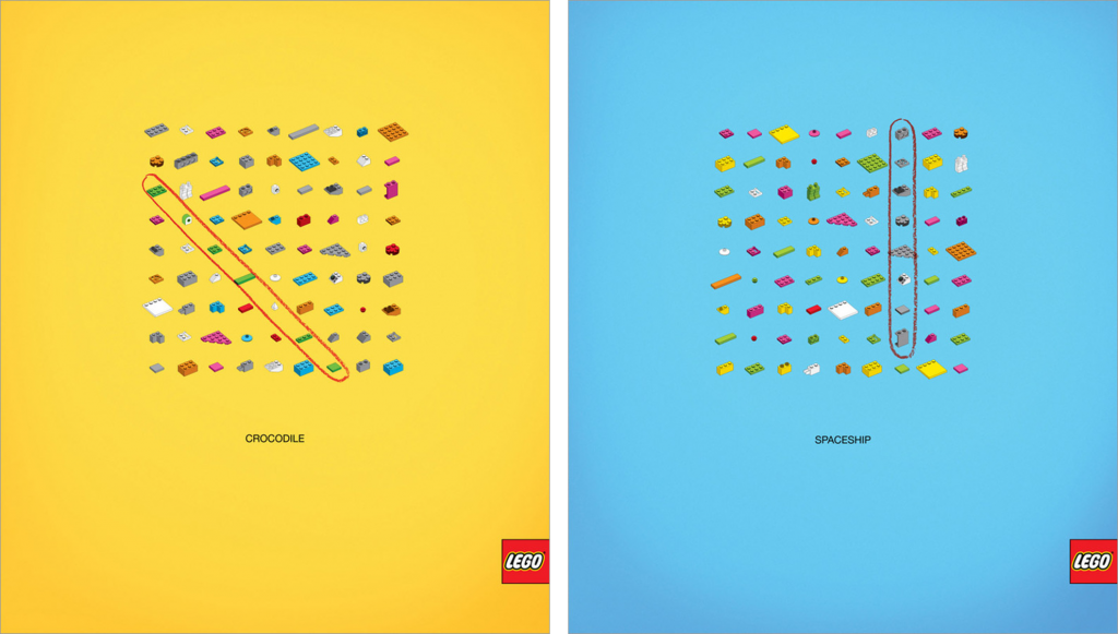 LEGO ads TBWA