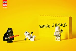 Brand storytelling built with LEGO blocks