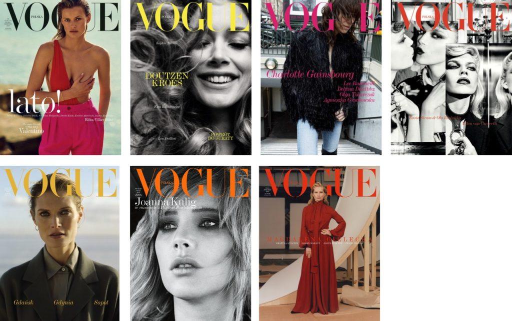 Vogue Poland covers 2019
