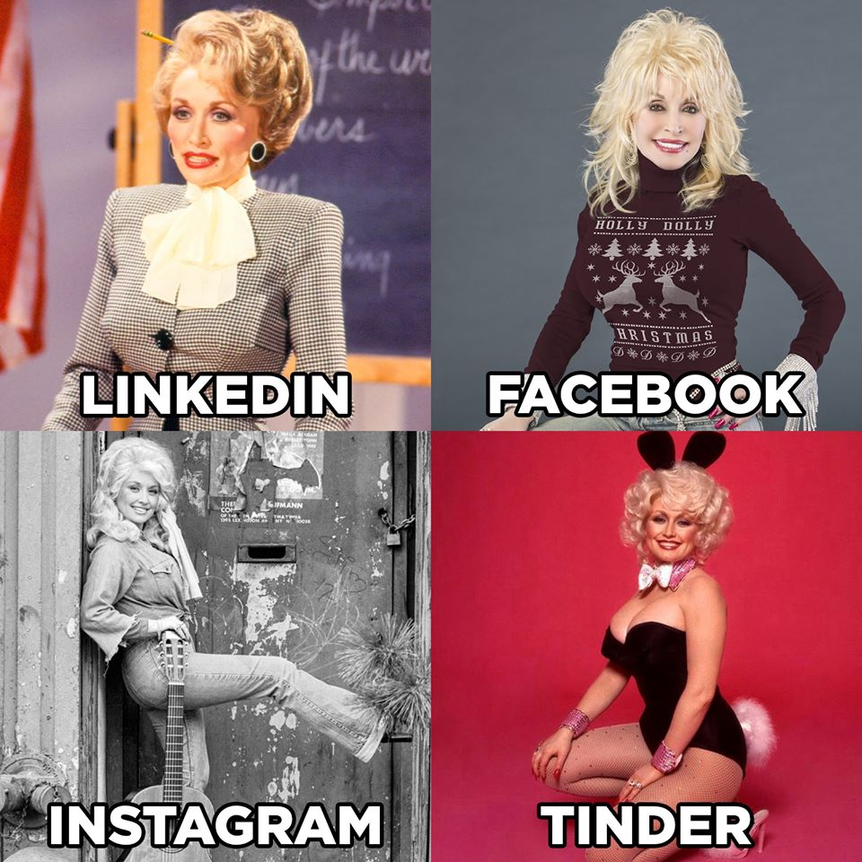 dolly parton challenge collage