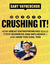 bookcover of crushing it